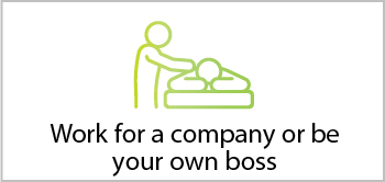 Work for a company or be your own boss