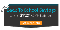Click here for Back to School Savings special