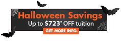 Click here for Halloween Savings special