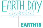 Click here for Earth Day Savings special