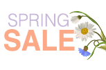 Click here for Spring Savings special