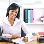 Medical Coding and Billing Woman in Office