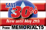 US Career Institute's Memorial Day offer is 30% off tuition, until May