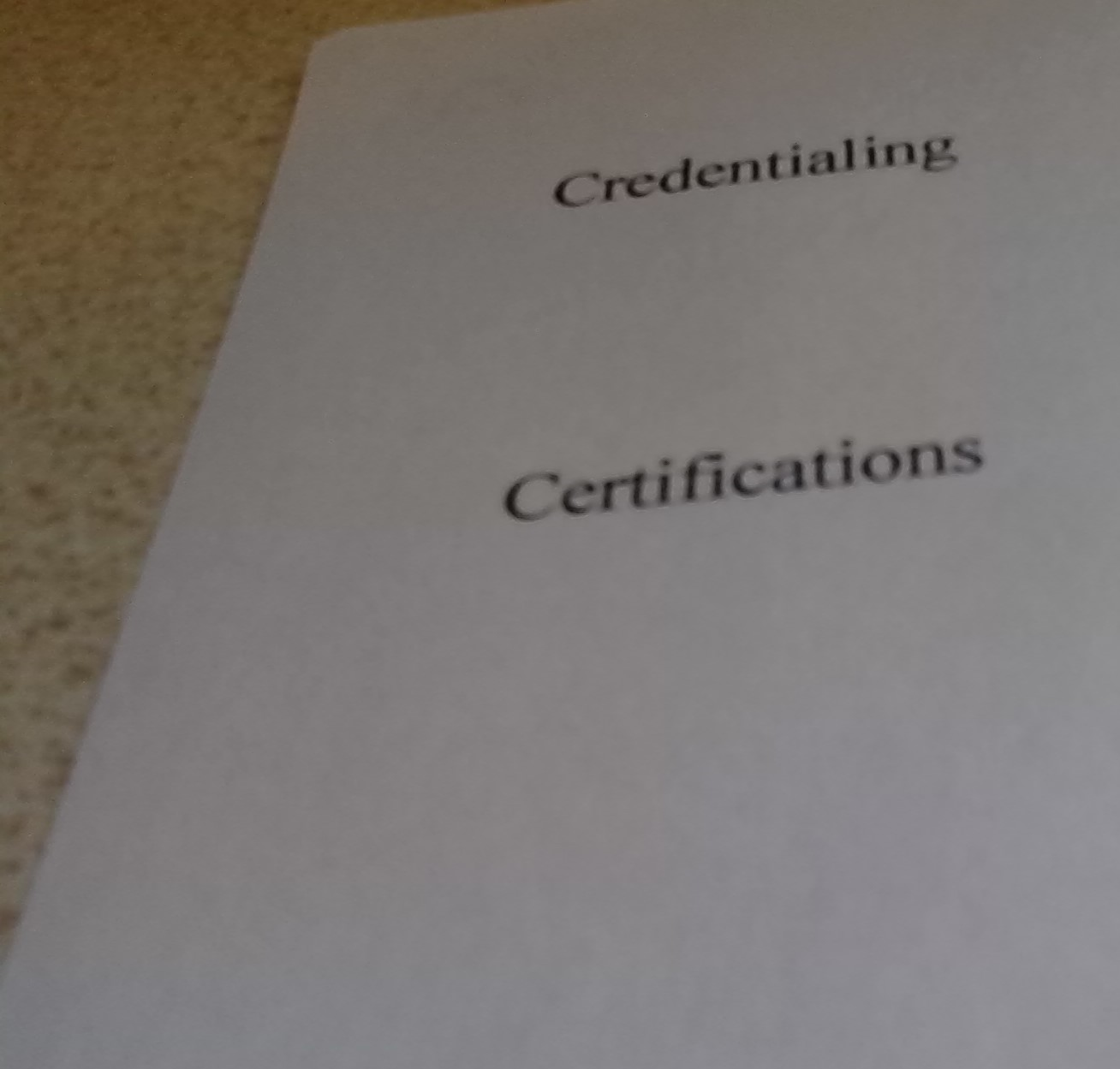 Researching Certifications Blog Usci