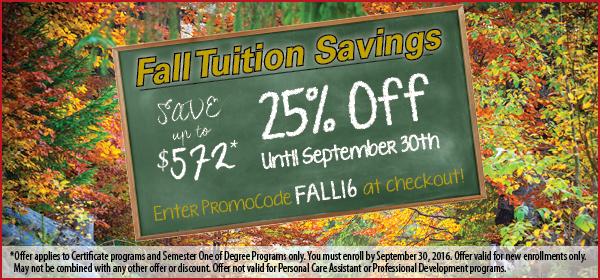 Fall Savings Offer