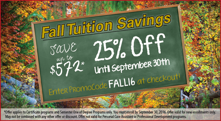 Save Big With Our Fall Savings Offer